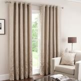Latte Warwick Curtain Collection  #pinittowinit #dunelm