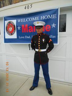 My Marine son.