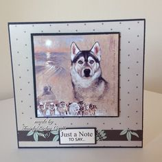 Pollyanna Pickering Best of Breeds Dog Cards, Create And Craft, Crafts To Do, Dog Life, Card Ideas, Layouts, Birthday Cards, Projects To Try, Birthdays