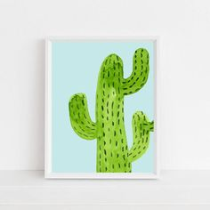 Cactus Wall Art - by the Sour Cactus on Etsy