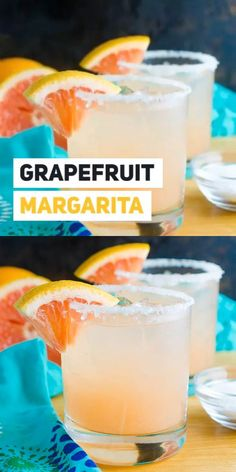 margarita recipes If I had to choose a favorite cocktail, it just might (definitely) be a Grapefruit Margarita recipe. Sweet and tangy and perfectly delicious! Jalapeno Margarita, Grapefruit Margarita Recipe, Grapefruit Cocktail, Margarita Recipes, Best Margarita Recipe, Grapefruit Recipes, Wine Margarita, Lemon Vodka, Lemon Drink
