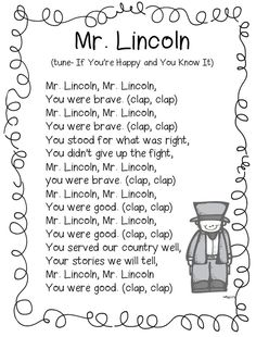 First Grade Wow: Historical Figures, George and Abe