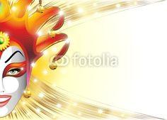 Joker Carnival Mask Background © Bluedarkat