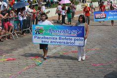 Desfile Cívico do Aniversário de Bofete - 135 anos - Comércios - Aposente-se