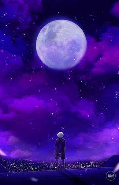 Aquel desmesurado y desorbitado sentir ronda por las páginas de mi memoria. La luna llena aún nos recuerda.