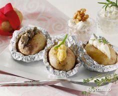 Patate al forno con cinque salse #Natale #Christmas