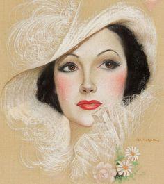Arte com Encanto by Vastí Fernandes: Damas Vintage para Decoupagem