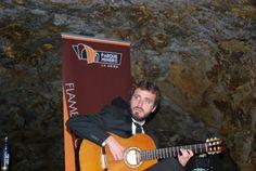 Jesús Guerrero guitarrista de Jeromo Segura
