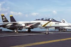 "160413/AJ-203 F-14A VF-84 ""Jolly Rogers"", NAS Oceana, Va 