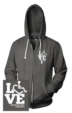 Pictures of LOVE Respiratory Therapy Hooded Zip-Up..kinda like this!