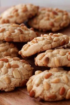 Gluten Free Pignoli Cookies | This Mess is Ours Gluten Free Cookies, Gluten Free Baking, Gluten Free Desserts, Gluten Free Recipes, Pignoli Cookies, Baked By Melissa, Cookie Recipes, Dessert Recipes, Chocolate Crunch