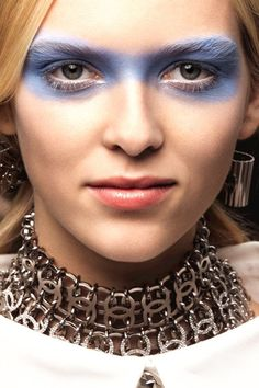 Spring Summer 2016: Backstage Beauty Bites from Vogue.co.uk - - more on Anything-blue.com