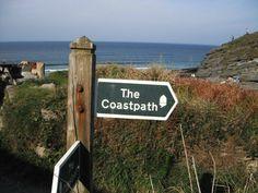 Heritage coastal path this way!