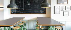 Superb Industrial cafe decoration