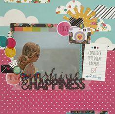Sunshine+&+Happiness - Scrapbook.com