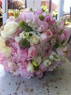 Bridal Bouquet wedding pink flowers pretty bride bouquet bridal