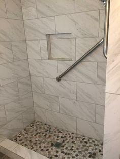 Tile Floor, Bathrooms, Flooring, Texture, Crafts, Surface Finish, Manualidades, Bathroom, Full Bath