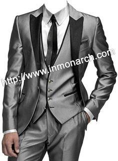 stylish silver tuxedo - Google Search