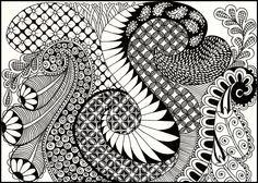 zentangle animals - Google Search