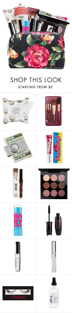 """Makeup Bag 💄"" by leonnaw ❤ liked on Polyvore featuring beauty, Sephora Collection, Bobbi Brown Cosmetics, Benefit, MAC Cosmetics, Chantecaille, Gorgeous Cosmetics, OY-L and Dolce&Gabbana"