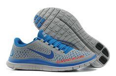 detailing add8f 16338 Wolf Grey Game Royal Wolf Grey Nike Free 3.0 V4 Men s Running Shoes Nike  Free Shoes