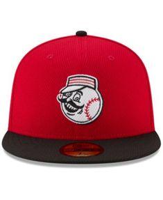New Era Cincinnati Reds Diamond Era Spring Training 59FIFTY Cap - Red Black  6 7 8 f2fc1df2a042