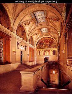 Boston Public Library - beauty, history, peace