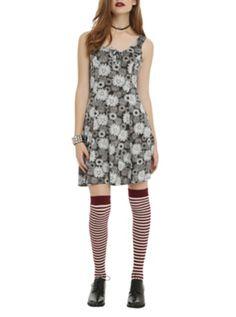 Daisy Skull Dress, lose the stockings.
