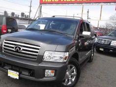 2006 #Infiniti #QX56 AWD #SUV - #NJ #NY Auto Auction | Jersey City, New Jersey