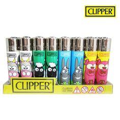 Boite de 48 briquets Clipper Animaux de la Ferme 01