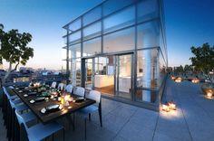 new york luxury penthouses | One York Penthouse, New York. Image credit: Tribeca Citizen.