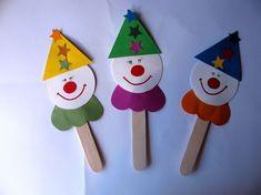 Himimi Handmade: Itt a farsang! Sheep Crafts, Bird Crafts, Easy Crafts, Diy And Crafts, Crafts For Kids, Arts And Crafts, Paper Crafts, Circus Crafts, Carnival Crafts