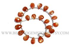 Super Quality AAA Sunstone beads In Pear Faceted Shape 6x8 #sunstone #sunstonebeads #sunstonebead #sunstonepear #pearbeads #beadswholesaler #semipreciousstone #gemstonebeads #beadsogemstone #beadwork #beadstore #bead