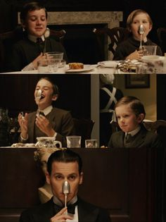 Finding Neverland - the dinner party