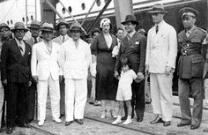 Chegada do capitão Juraci Magalhães ao Congresso dos Interventores do Norte, 1934. Recife (PE). (CPDOC/ JPB foto 010)