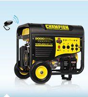 Champion 7,000/9,000 Peak Watts Generator w/ Remote  Start - $549 - Costco til 9/27