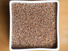 "Grains-Teff  The name ""teff"" refers to the grain's miniscule size; teff comes from the word ""teffa"" or ""lost"" — as in ""where'd it go?"" — in Amharic, the official language of Ethiopia. Teff is a kind of millet that possesses more iron and calcium than other whole grains, as well as all eight essential amino acids. Whole teff can be cooked into porridge or polenta-like dishes, as well as added to baked goods; teff flour is the primary ingredient of injera, a spongy Ethiopian flatbread."