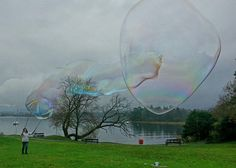 Windermere bubbling! Dr Zigs Extraordinary Bubbles!