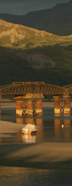 Barmouth Bridge in Wales, built in 1867