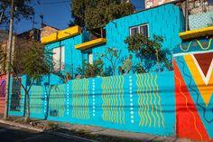 Galeria de Intervenção Urbana: Coletivo Boa Mistura invade com cores a Colonia Las Américas - 7