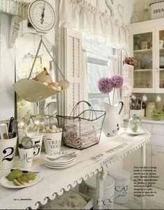Beautiful shabby kitchen