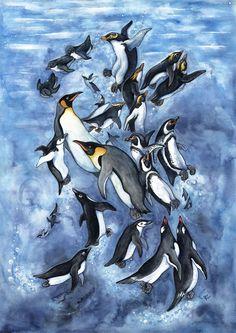 You see Yellow-eyed penguin Little (Blue) penguins Rockhopper penguin Royal penguin Snares penguin African penguin Chinstrap penguins Emperor penguin Ad. penguins of the world King Penguin, Penguin Art, Penguin Love, Humboldt Penguin, Penguin Tattoo, Penguin Pictures, Penguin Illustration, Penguin Species, African Penguin