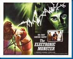 Electronic Monster The Movie Poster 24inx36in
