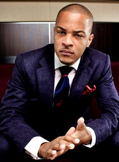 T.I. - he sure does clean up WELL. *swoon*