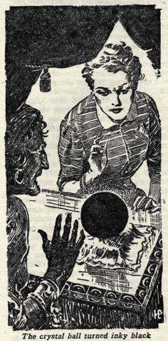 "Really bad news; ""The crystal ball turned inky black""- (1939)"