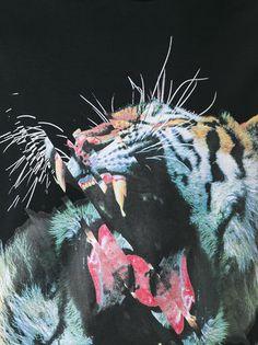 Marcelo Burlon County Of Milan playera con estampado de tigre
