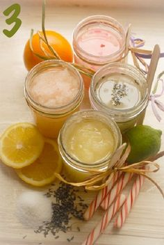 24 Handmade Bath and Spa Gift Ideas in mason jars | Random Tuesdays