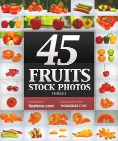 Freebie Release: High Quality Fruits Stock Photos