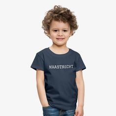 Den Bosch Shirt Casual Collection Kinderen Premium T-shirt Funny Shirts, Cool T Shirts, Casual Shirts, Doce Banana, Shirt Designs, Unique T Shirt Design, Black Girl Fashion, Unisex, Funny Design