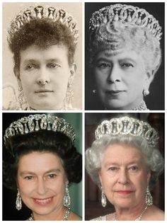 Royal Tiara Challenge: Day Twenty-Six Favorite Pearl Tiara Grand Duchess Vladimir's Pearl Drop Tiara British Crown Jewels, Royal Jewels, Royal Tiaras, Tiaras And Crowns, Princess Margaret, Princess Charlotte, Queen Mary, Queen Elizabeth Ii, Isabel Ii